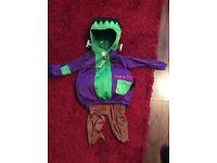 Halloween Frankenstein costume boys 1-2years