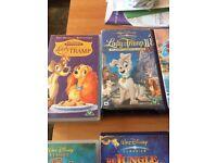 Walt Disney VHS including classics!