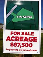 LAND FOR SALE IN NORTH RUSTICO, PEI