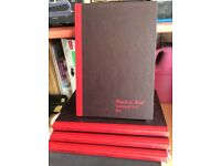 Top Brand A4 Black'n Red A-Z INDEX BOOKS New. Top Quality.