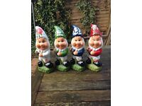 Rugby Football Garden Gnomes 🎨