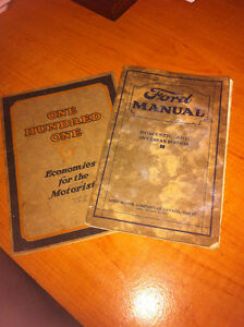 Original Ford 1926 Manual