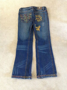 Antik embroidered designer jeans - size 27
