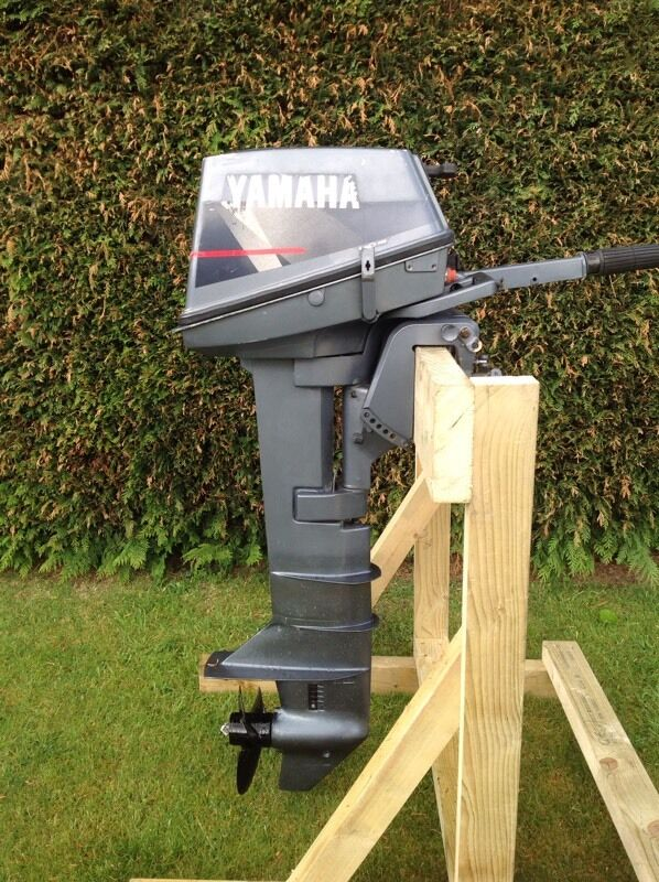 Yamaha 6 hp boat outboard motor in blandford forum for Yamaha jet boat forum