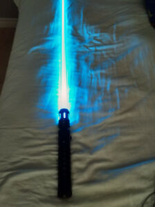 Star Wars Arctic Blue Lightsaber (Custom)