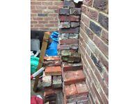 Antique soft red house bricks