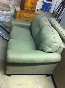 large clean comfy loveseat