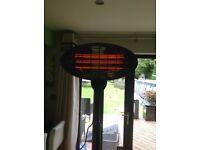 2kw freestanding patio heater