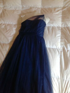 Alfred Angelo evening/bridesmaid gown- midnight blue