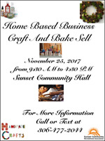 Home  Based  Business Craft & Bake Sell