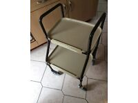 Mobility kitchen walker trolley