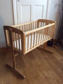 Mothercare Swinging crib BRAND NEW. Mattress NOT included.