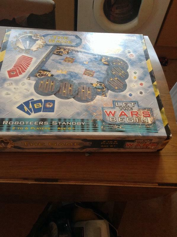 War Robot Games Robot Wars Box Game tx Only