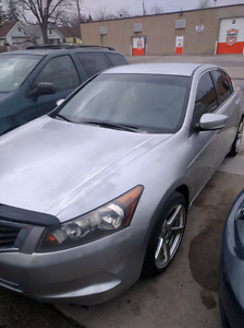 I'm selling my Honda Accord silver color 2008 very clean