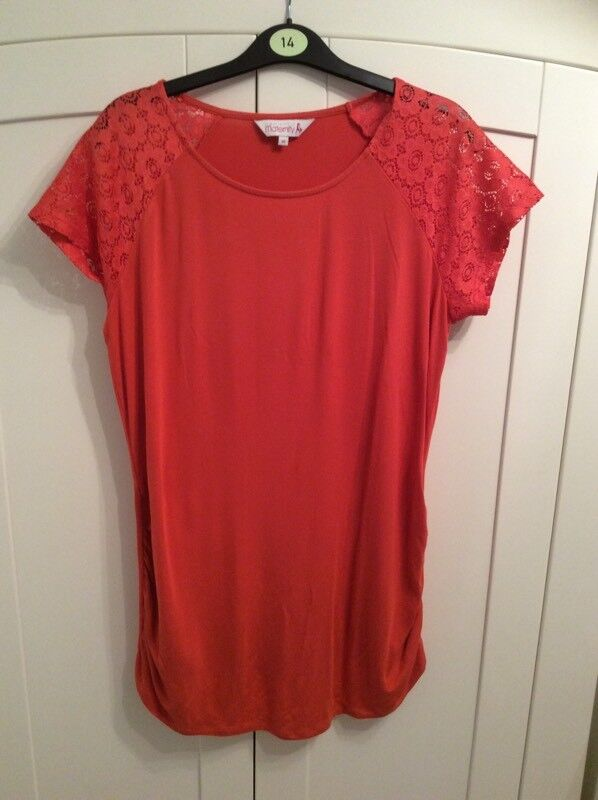 Redherring maternity top size 14