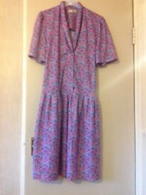 Ladies Debenhams floral dress size 16