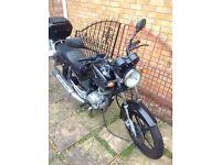 Yamaha YBR 125cc Legal Learner for sale