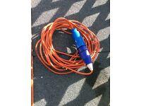 CARAVAN ELECTRIC EXTENSION CABLE HOOK UP