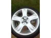 Mini 17 alloy wheel excellent condition