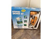 Camping and caravan portable shower