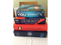 Board games x 4