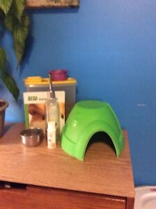 Guinea pig cage and  accessories Kitchener / Waterloo Kitchener Area image 3