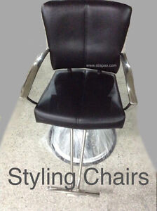 Barber Chairs, styling chairs, NEW shampoo stations & furniture West Island Greater Montréal image 3