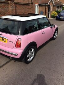 Automatic pink mini 45000 miles full service history