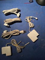 PARTS ONLY - Apple chargers - mac mini - dvi - extensions