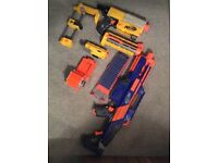 Nerf Guns - Excellent Condition