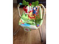 Fisher Price Rainforest Friends Baby bouncer