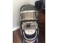 iCandy Peach 2 Truffle carrycot & seat unit