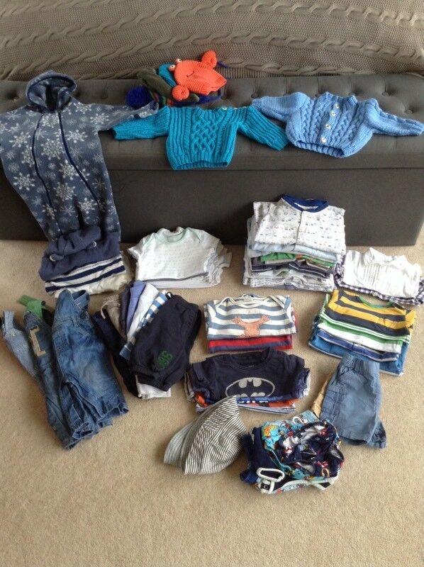 Generous 3-6 months Winter Bundle for Boys