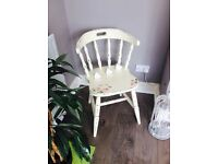 Beautiful shabby chic/vintage occasion chair/dressing table chair