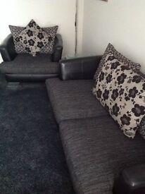 3 seat sofa & Armchair