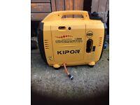 Kipor 2600 watt silent generator £550