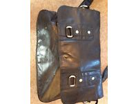 Leather satchel by Guess