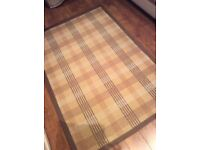 Laura Ashley Rug with two matching cushions