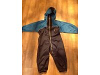 Childs all in one waterproof suit