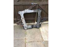 Front subframe for Renault Clio 02 dci