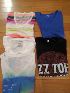 Ladies name brand tops and tank tops