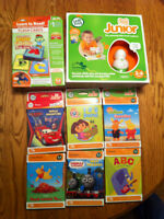 Leapfrog Tag Juniour Reader with 8 books