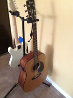 Cort Acoustic Electric Guitar & Groove Factory Amp