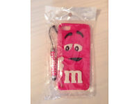 IPod 5 generation M&Ms pink case