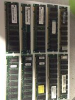 Misc PC Ram For Sale - by the lot