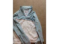 Ladies billabong jacket coat fab condition