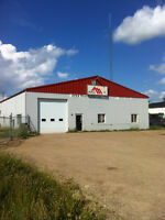 Commercial Shop and Yard for Rent in Bonnyville, AB