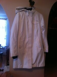 Cool white lole coat gently used, still white! Peterborough Peterborough Area image 1
