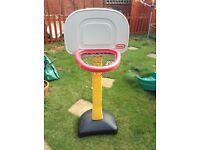 Little tykes mini basketball hoop