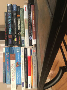 Selling my used textbooks!